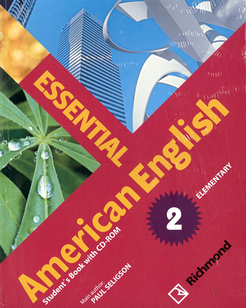 Imagen de KIT ESSENTIAL AMERICAN ENGLISH 2 (SB+CD-ROM)
