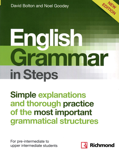 Imagen de NEW ENGLISH GRAMMAR IN STEPS