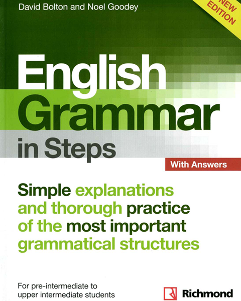 Imagen de NEW ENGLISH GRAMMAR IN STEPS WITH ANSWERS