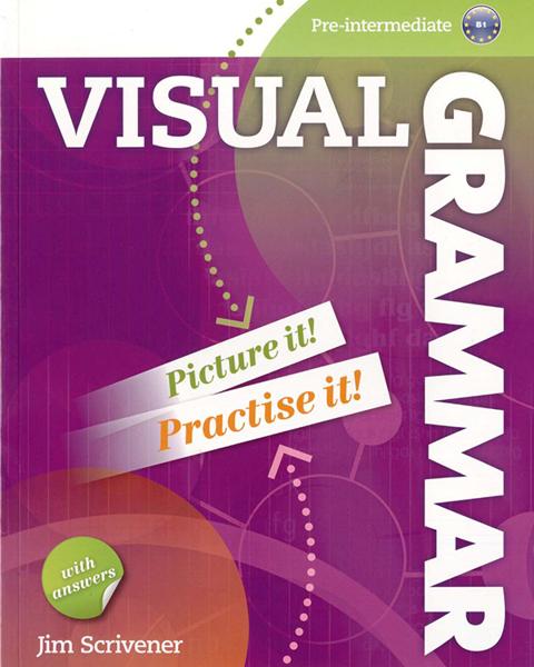 Imagen de VISUAL GRAMMAR PRE-INTERMEDIATE B1 WITH ANSWERS