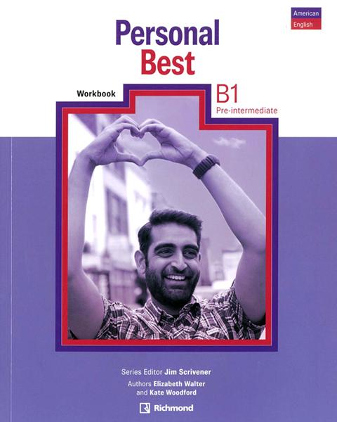 Imagen de PERSONAL BEST AMERICAN ENGLISH B1 WORKBOOK PRE-INTERMEDIATE