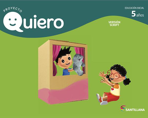 Imagen de QUIERO 5 AÑOS SCRIPT