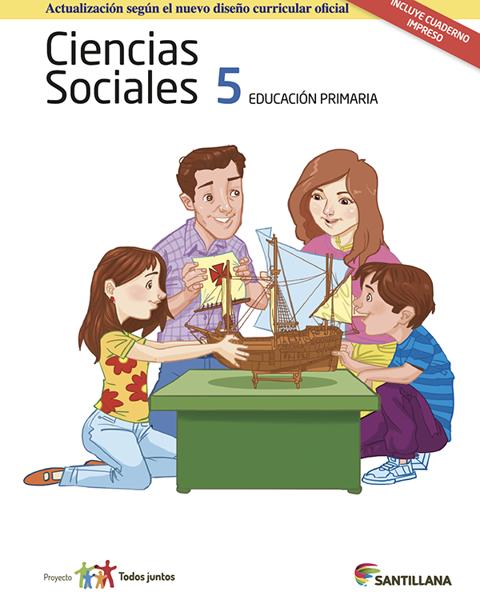 Imagen de PACK CIENCIAS SOCIALES 5 SERIE T JUNTOS 2017