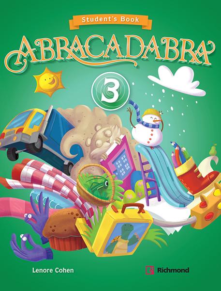 Imagen de KIT ABRACADABRA 3 (SB + CD)