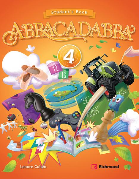 Imagen de KIT ABRACADABRA 4 (SB + CD)