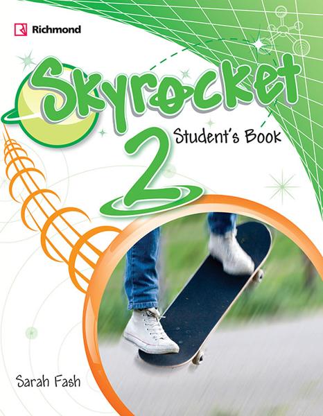 Imagen de PACK SKYROCKET 2 (SB+PRACT+CD+GRAMMAR)