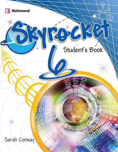Imagen de PACK SKYROCKET 6 (SB+PRACT+CD+GRAMMAR)