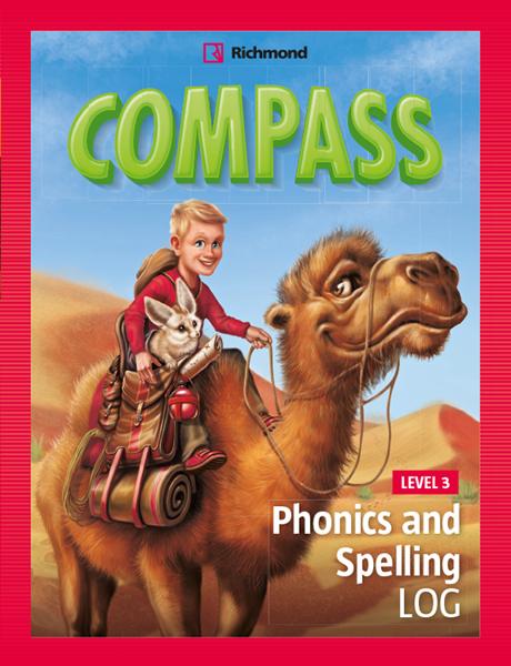 Imagen de COMPASS LEVEL 3 PHONICS AND SPELLING LOG