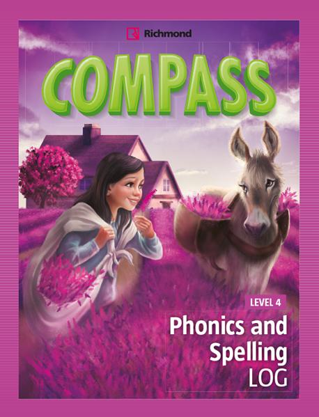Imagen de COMPASS LEVEL 4 PHONICS AND SPELLING LOG