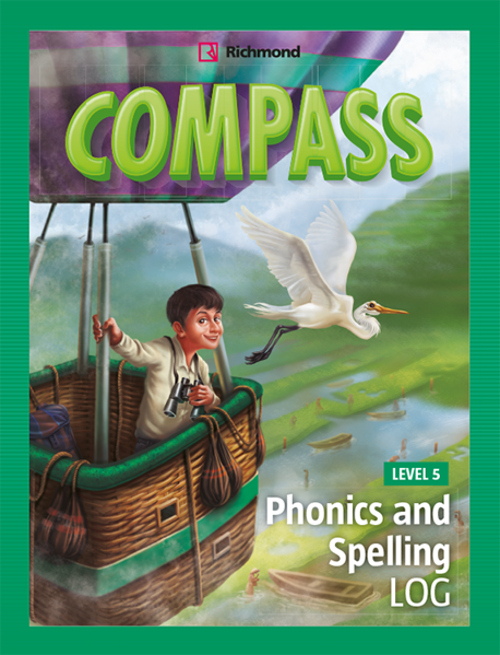 Imagen de COMPASS LEVEL 5 PHONICS AND SPELLING LOG