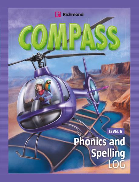 Imagen de COMPASS LEVEL 6 PHONICS AND SPELLING LOG