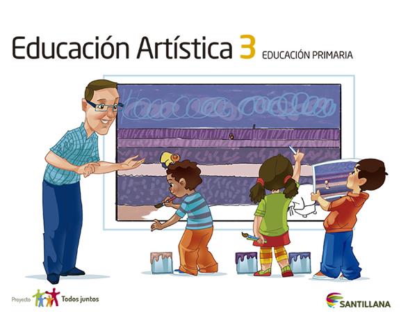 Imagen de EDUCACION ARTISTICA 3 SERIE T JUNTOS