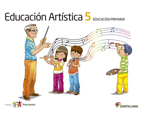Imagen de EDUCACION ARTISTICA 5 SERIE T JUNTOS