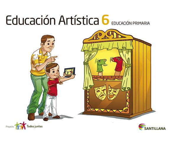 Imagen de EDUCACION ARTISTICA 6 SERIE T JUNTOS