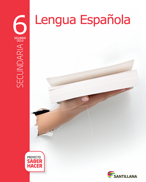 Imagen de PACK LENGUA ESPAÑOLA 6 SECUNDARIA SABER HACER
