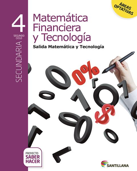 Imagen de MATEMATICA FINANCIERA Y TECNOLOGIA 4 SABER HACER