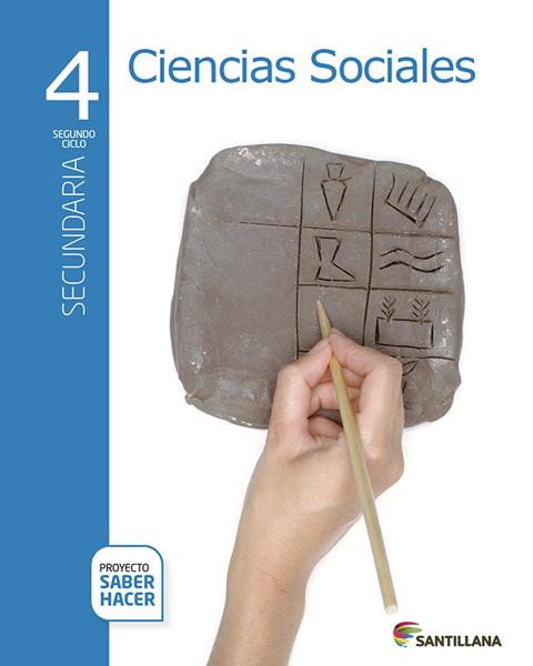 Imagen de PACK CIENCIAS SOCIALES 4 SECUNDARIA SABER HACER