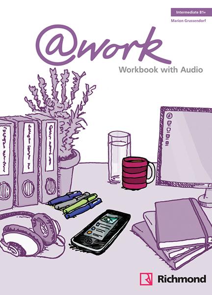 Imagen de @WORK 3 WORKBOOK + CD  B1+