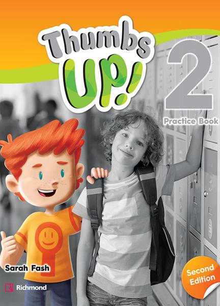 Imagen de THUMBS UP! SECOND EDITION 2 PRACTICE BOOK