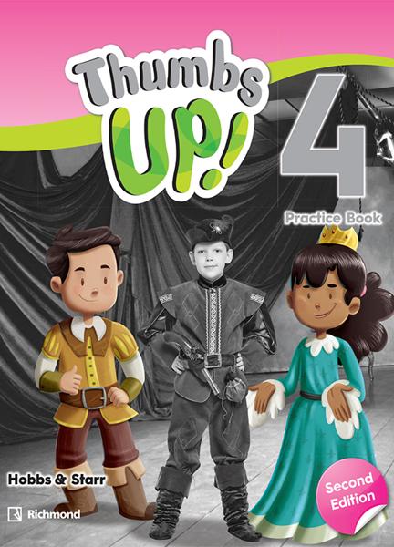 Imagen de THUMBS UP! SECOND EDITION 4 PRACTICE BOOK