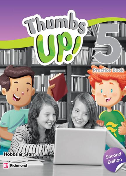 Imagen de THUMBS UP! SECOND EDITION 5 PRACTICE BOOK