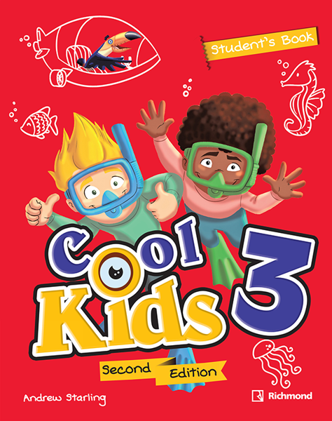 Imagen de PACK COOL KIDS 2ED 3 (SB+CD+READING)