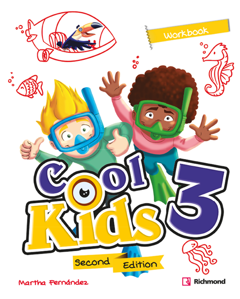 Imagen de COOL KIDS SECOND EDITION 3 WORKBOOK
