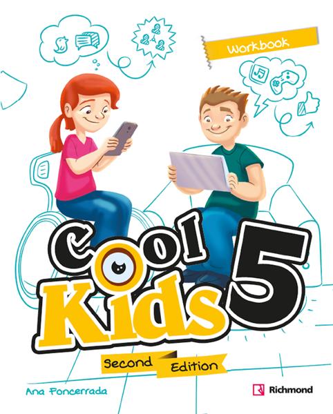 Imagen de COOL KIDS SECOND EDITION 5 WORKBOOK