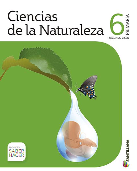 Imagen de PACK CIENCIAS DE LA NATURALEZA 6 PRIMARIA SERIE SABER HACER