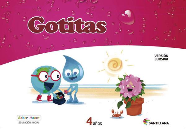 Imagen de CARPETA GOTITAS 4 AÑOS CURSIVA SABER HACER
